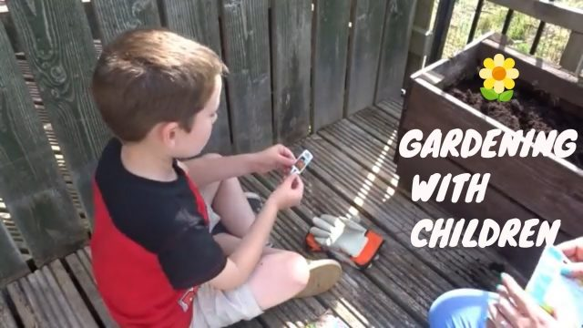 GARDENING WITH CHILDREN | SUMMER HOLIDAY ACTIVITIES