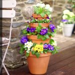 How to make a vertical garden by stacking pots | Tesco