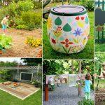 100 DIY garden Ideas kids will love!   DIY Garden