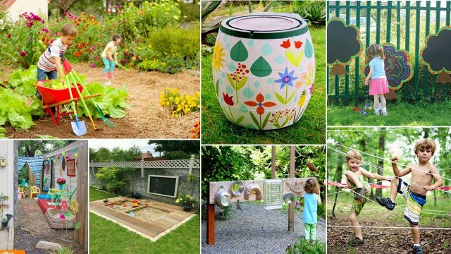 100 DIY garden Ideas kids will love! | DIY Garden