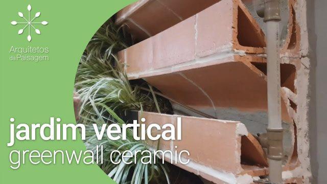 Jardim Vertical com GreenWall Ceramic | Maria Cândida | Arquitetos da Paisagem