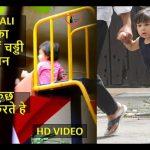 TAIMUR ALI KHAN का GARDEN में चड्डी पर तूफान VIDEO ! KIDS PLAYING IN GARDEN ! BOLLYWOOD KIDS