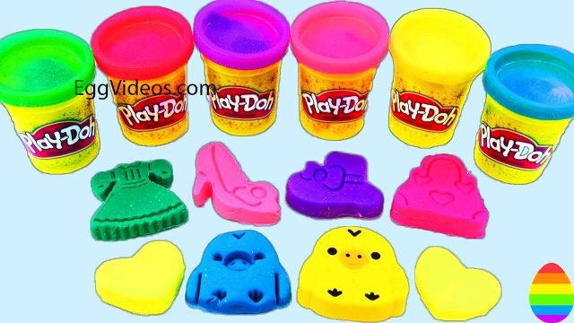 Learn Colors With Play Doh – KID GARDEN