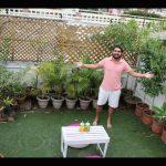 My Rooftop Terrace garden .