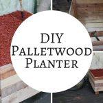 How to make a rustic pallet garden planter box | Pallet Ideas