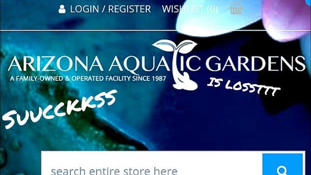 WARNING: Arizona Aquatic Gardens
