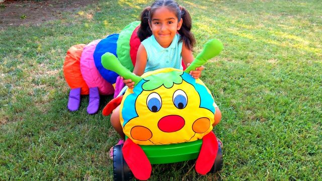 Esma Learn Colors new friend cute caterpillar fun games garden