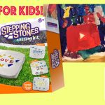 Crafts for Kids! Stepping Stones Skullduggery Summer Garden Decor Painting, Mixing Colors Tubey Toys