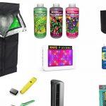 Mini GreenHouse & Indoor Cannabis Grow Kit Setup