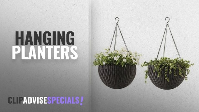 10 Best Hanging Planters [2018 Best Sellers] | Pots, Planters & Container Accessories