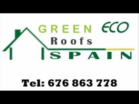 Green ECO Roofs and Living Roofs in Spain