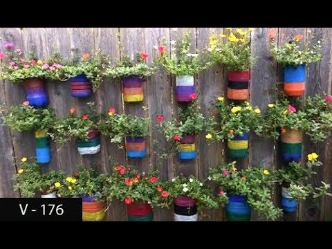 How to use Plastic Bottles as Planter/Pots | Wall Hanging Garden | Grow Plants