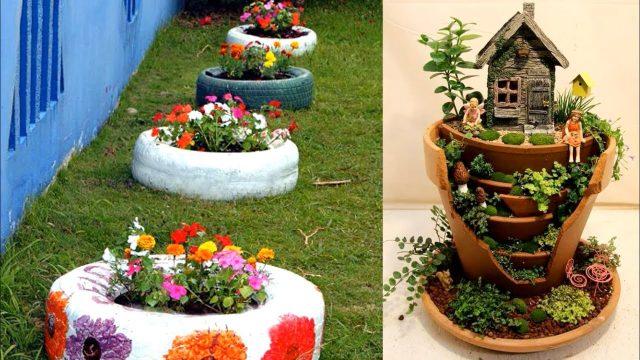 Garden decoration Ideas Home made 2018