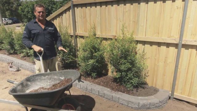 DIY Garden wall Video – Miniwall® garden how to video