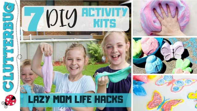 7 DIY Kids Summer Activity Craft Kit Ideas