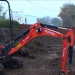 Installing a driveway using EASYGrid (Ground Stabilisation & Reinforcement Grid – Green)