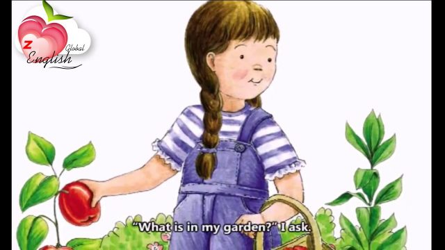 English for kids – Learn english through stories: What is in my garden