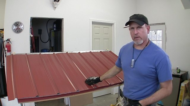 How to Build a Pole Barn Pt 7 – Metal Roofing