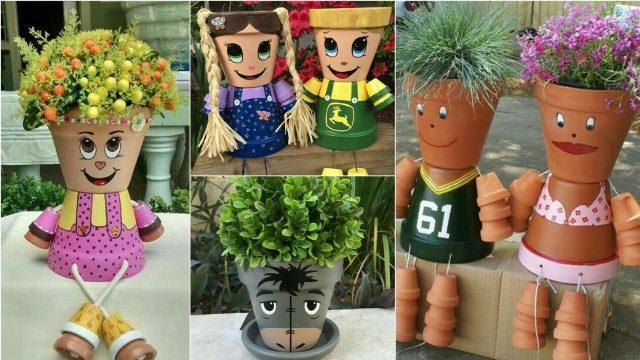 Diy Flower Pots Creative Decoration Ideas  New garden Ideas