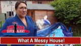 What A Messy House! Dad Uses Kids' Garden As Total Junkyard | Supernanny