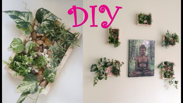 DIY Faux Vertical Gardens | Home Decor | Plant Picture Frames