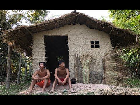 Primitive Technology: Cogon Grass Roof Hut