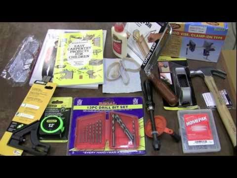 Highland Kids Woodworking Tool Kit