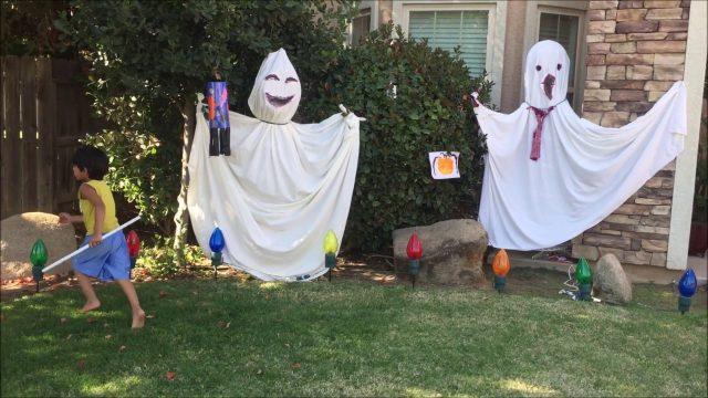 2018 Halloween Decorations/Cheap and Easy Outdoor Halloween Decor DIY Ideas | Garden ideas