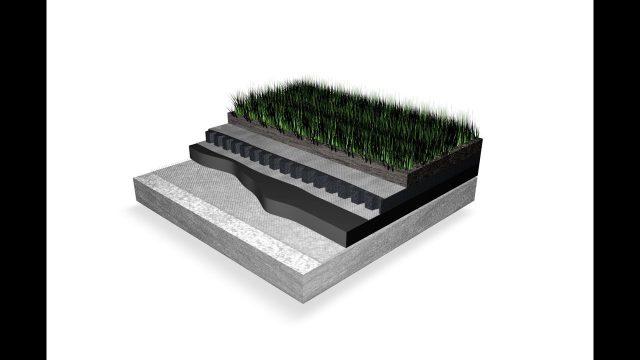 Asphaltech Green Roof System