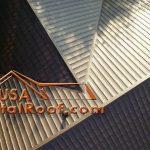 Metal Roof Brown Mocha Amber