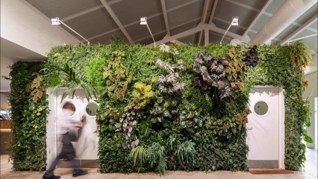 Jardines verticales para exterior e interior