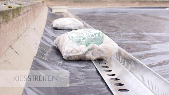 URBANSCAPE Green Roof System – Installation (german version)