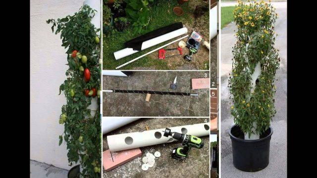 Easy vertical planter diy