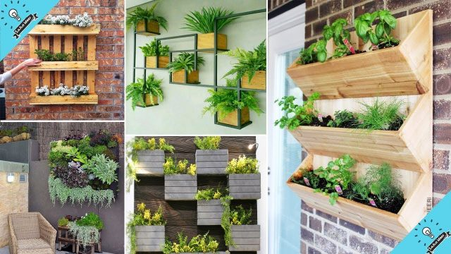 100 DIY Creative Vertical Garden Wall Planter Boxes Ideas | Garden Ideas