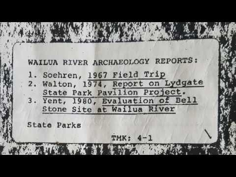 Bellstone Heiau Cover-up – DLNR, KPD, Garden Island Newspaper, & Dept. of Interior?