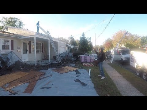 We Got A New Roof On Our House!