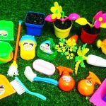 MINI PLANTS and GARDENING TOYS TOOLS FOR KIDS