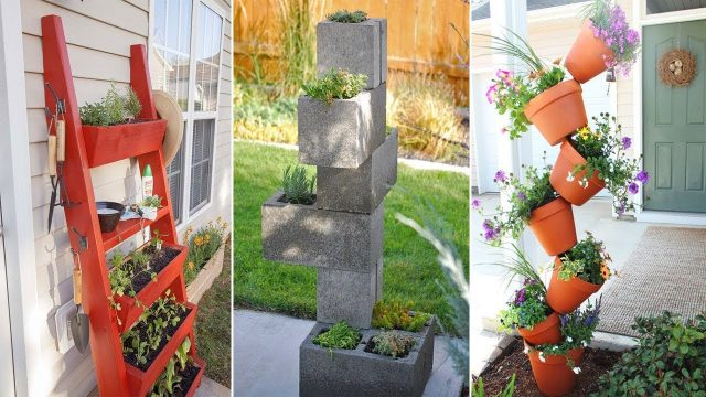 43 Vertical Planters To Save Your Outdoor Space | Garden Ideas