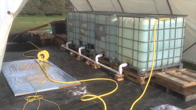 Chilli Farm – Aquaponics setup – May 2014
