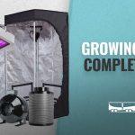 Growing Tent Complete Kit For Indoor Gardening & Hydroponics: TopoGrow LED Grow Tent Complete Kit