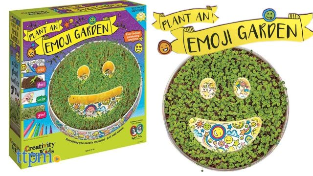 Plant an Emoji Garden from Creativity for Kids