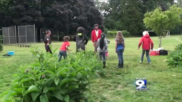 Students Celebrate School Garden Project