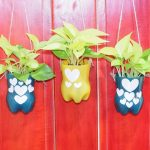 How to Make Wall Hanging Planters from Recycled Plastic Bottles