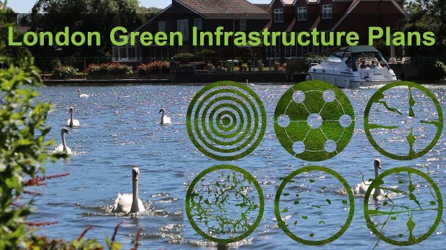 London green infrastructure, green grid, landscape plan