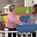 Set of 2 Dual Deck & Fence Planters on QVC