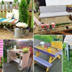 100 DIY furniture pallet Garden ideas   DIY Garden