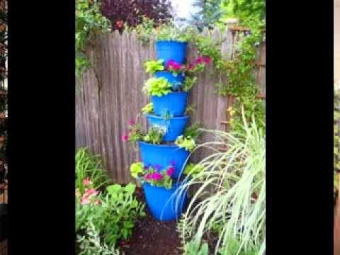 Vertical garden pots ideas