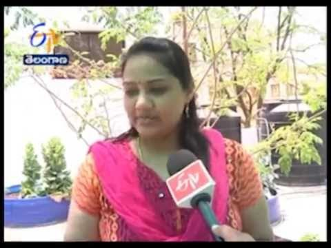 Archana, A Successful Woman In Terrace Vegetable Gardening At Hyderabad