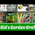 12 kids Garden craft ideas/ for beautiful Garden