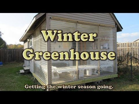 WInter Greenhouse – Preparing for the Winter Growing Season